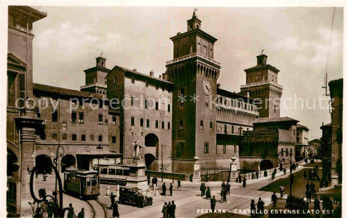AK / Ansichtskarte Ferrara Castello Estense lato est Kat. Ferrara 0