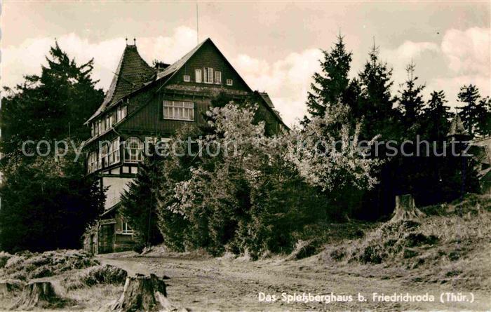 AK / Ansichtskarte Friedrichroda Spiessberghaus Kat. Friedrichroda