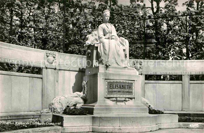 AK / Ansichtskarte Wien Kaiserin Elisabeth Denkmal Kat. Wien 0