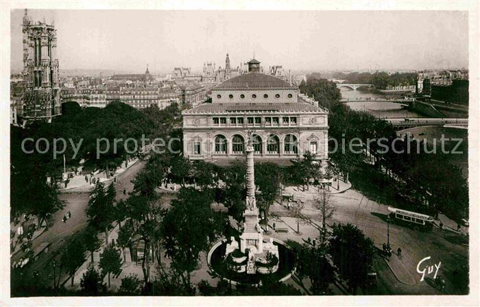 AK / Ansichtskarte Paris et ses merveilles Panorama Place du Chatelet Kat. Paris 0