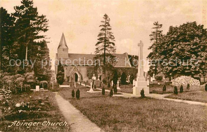 AK / Ansichtskarte Dorking Mole Valley Abinger Church Cemetery Kat. Mole Valley 0