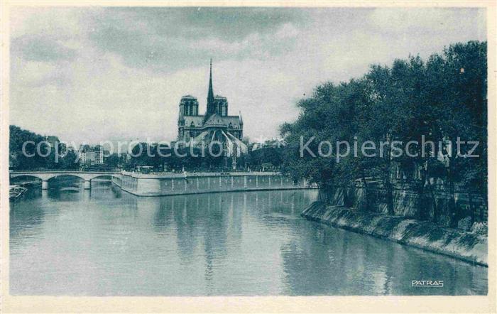 AK / Ansichtskarte Paris Notre Dame Ile Saint Louis Collection Les Jolis Coins de Paris Kat. Paris 0