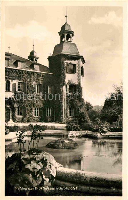 AK / Ansichtskarte Velden Woerther See Schlosshotel Kat. Velden am Woerther See 0