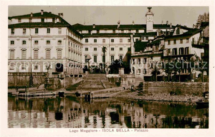 AK / Ansichtskarte Isola Bella Palazzo Kat. Lago Maggiore 0
