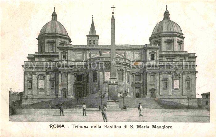 AK / Ansichtskarte Roma Rom Tribuna della Basilica di Santa Maria Maggiore Kat.  0