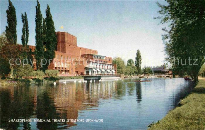 AK / Ansichtskarte Stratford Upon Avon Shakespeare Memorial Theatre Kat. Grossbritannien 0