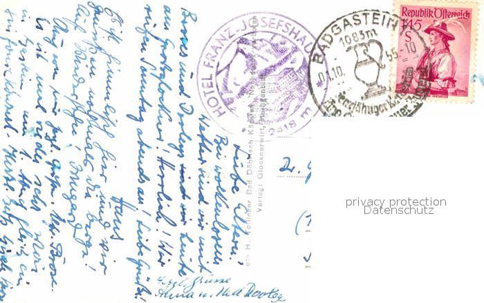 AK / Ansichtskarte Heiligenblut Kaernten Kaiser Franz Josef Haus und Johannisberg mit Grossglockner Kat. Heiligenblut 1