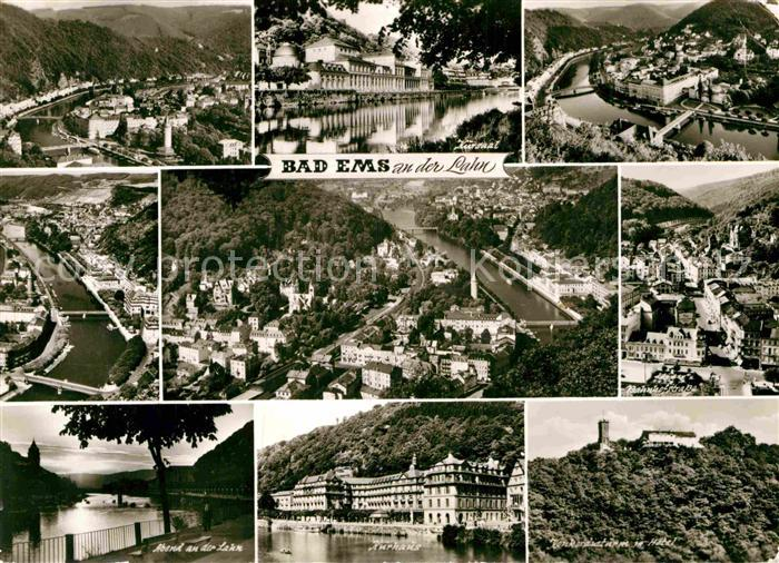 AK / Ansichtskarte Bad Ems Teilansichten Kurort Kat. Bad Ems 0