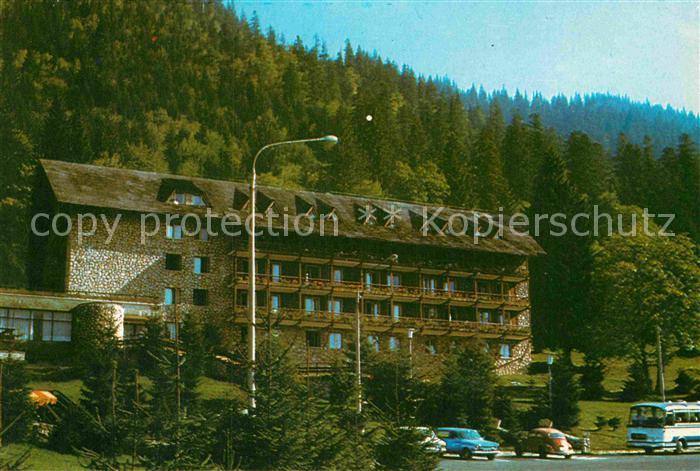 AK / Ansichtskarte Poiana Brasov Siebenbuergen Hotel Bradul Kat. Brasov