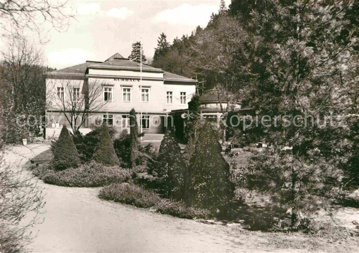 AK / Ansichtskarte Bad Schandau Kurhaus mit Brunnen Kat. Bad Schandau 0