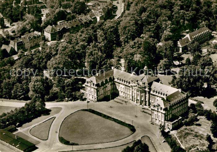 AK / Ansichtskarte Muenster Westfalen Schloss Universitaet Fliegeraufnahme Kat. Muenster 0