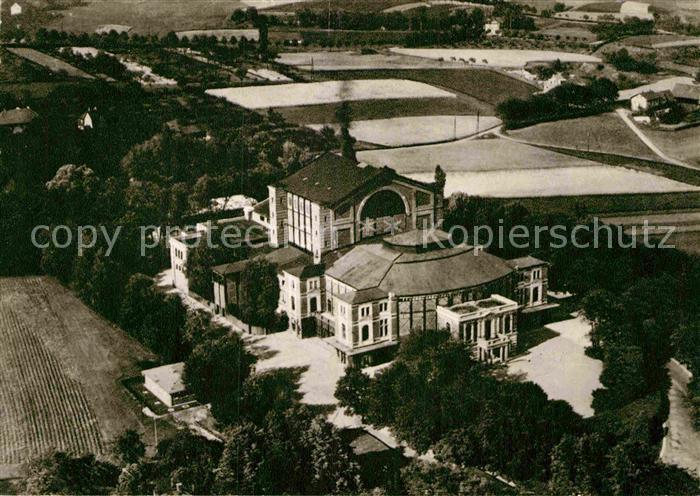 AK / Ansichtskarte Bayreuth Fliegeraufnahme Richard Wagner Festspielhaus Kat. Bayreuth 0