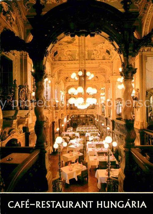 AK / Ansichtskarte Budapest Cafe Restaurant Hungaria Kat. Budapest 0