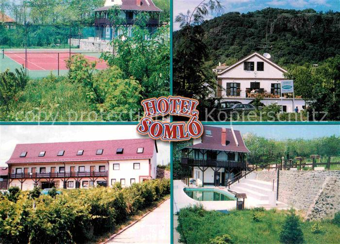 AK / Ansichtskarte Buek Buekfuerdoe Bad Hotel Somlo Tennisplatz Kat. Ungarn 0