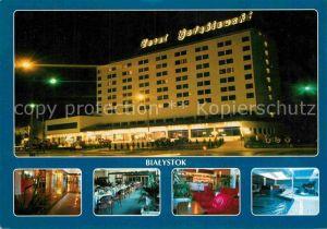 AK / Ansichtskarte Bialystok Hotel Golebiewski Hallenbad Lobby Restaurant  Kat. Bialystok