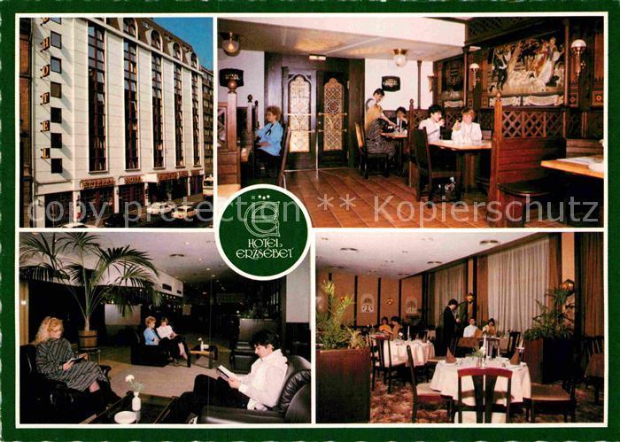 AK / Ansichtskarte Budapest Hotel Erzsebet Kat. Budapest