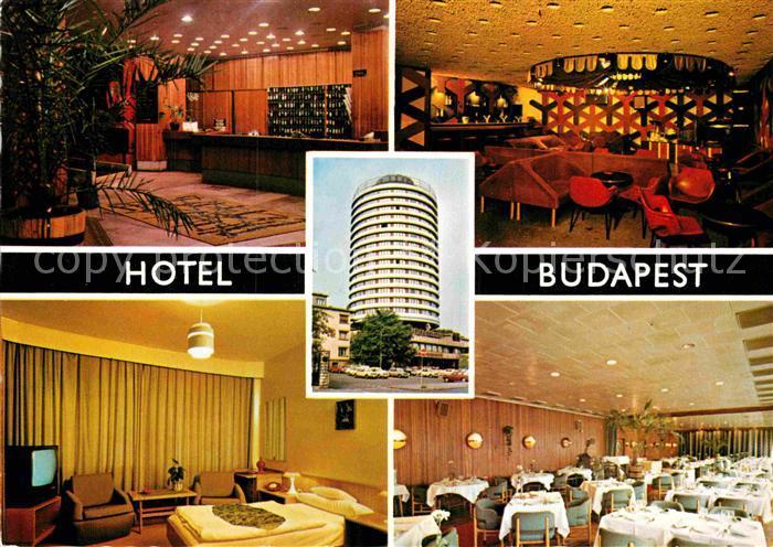 AK / Ansichtskarte Budapest Hotel Rezeption Zimmer Bar Restaurant  Kat. Budapest