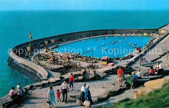AK / Ansichtskarte Blackpool North Shore Boating Pool Kat. Blackpool