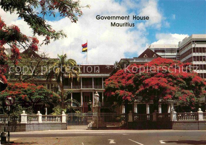 AK / Ansichtskarte Mauritius Government House Mauritius Kat. Mauritius