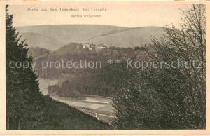 AK / Ansichtskarte Laasphe Bad Schloss Wittgenstein Laasphetal Kat. Bad Laasphe