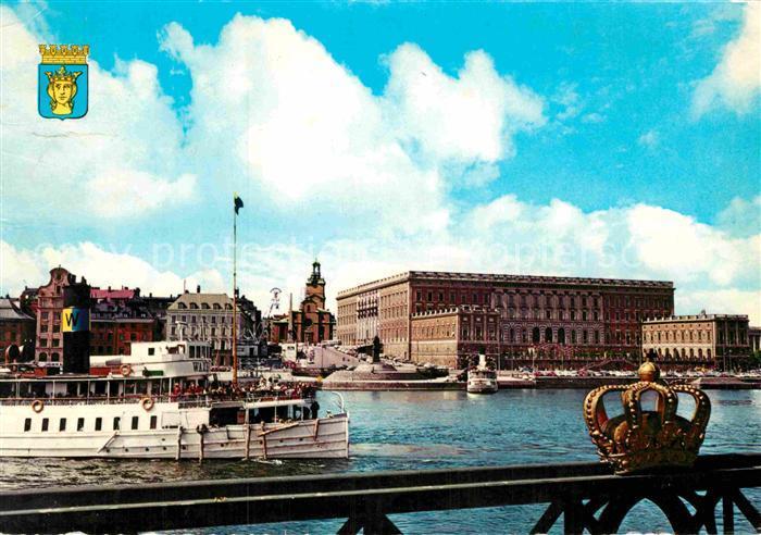 AK / Ansichtskarte Stockholm Kungl Slottet The Royal Palace Kat. Stockholm