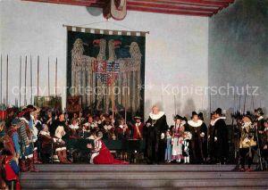 AK / Ansichtskarte Rothenburg Tauber Hist Festspiele Der Meistertrunk Kat. Rothenburg ob der Tauber
