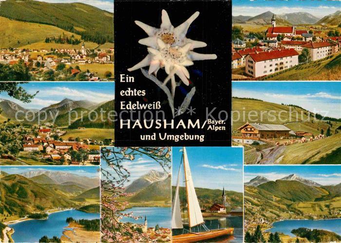 AK / Ansichtskarte Hausham Panorama Teilansichten Kat. Hausham