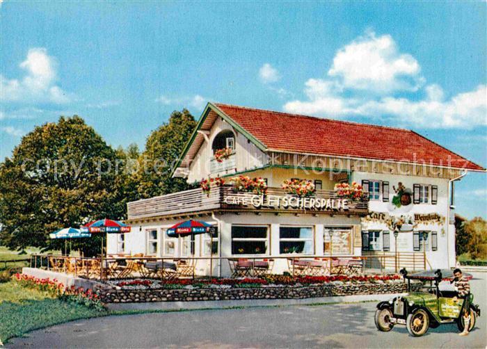 AK / Ansichtskarte Halblech Cafe Weinstube Gletscherspalte Kat. Halblech