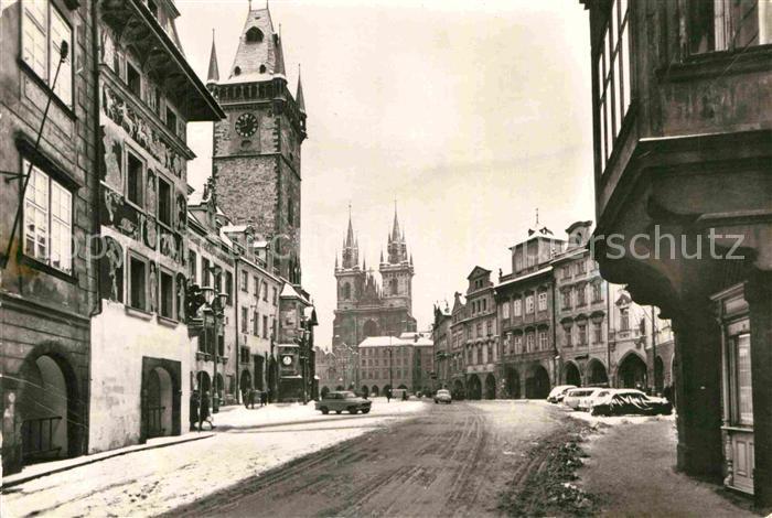 AK / Ansichtskarte Praha Prahy Prague Kirche  Kat. Praha