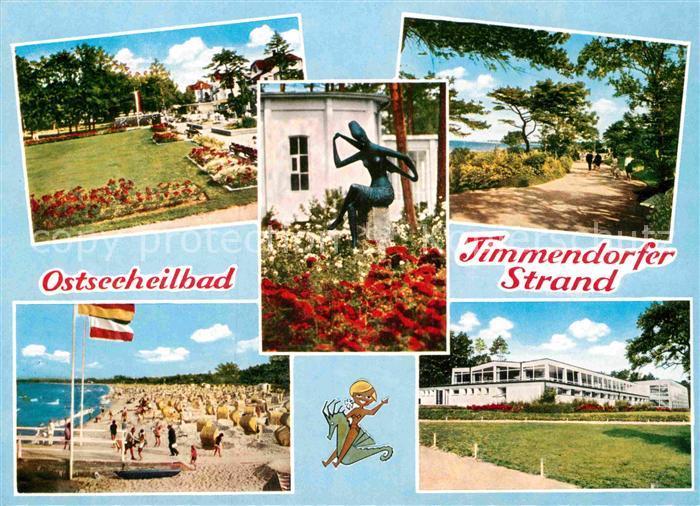 AK / Ansichtskarte Timmendorfer Strand Strand Kurpark Weg Kurhaus  Kat. Timmendorfer Strand
