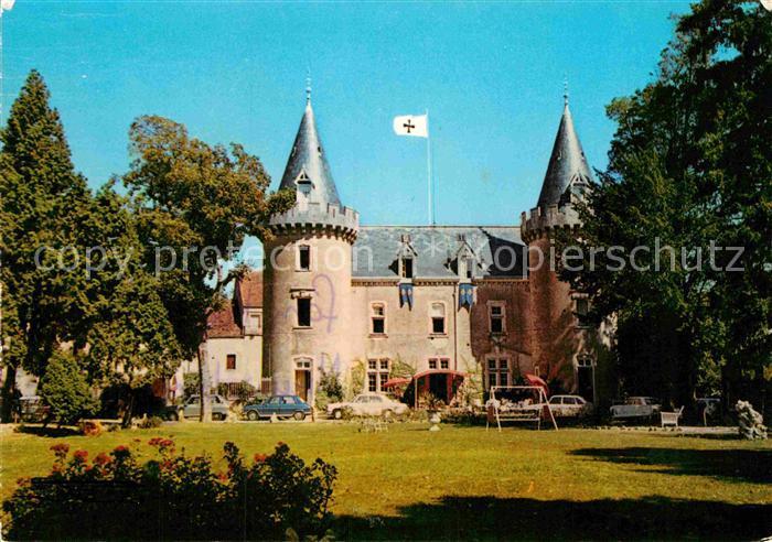 AK / Ansichtskarte Chagny Ardennes Hostellerie du Chateau de Bellecroix Kat. Chagny