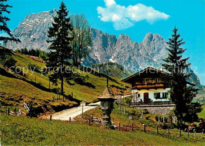 AK / Ansichtskarte St Ulrich Pillersee Bauerngehoeft Kat. St. Ulrich am Pillersee