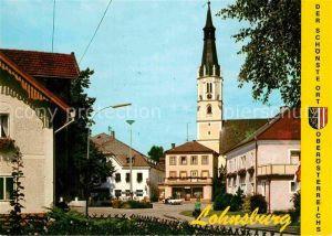 AK / Ansichtskarte Lohnsburg Kobernausserwald Kirche Kat. Lohnsburg am Kobernausserwald