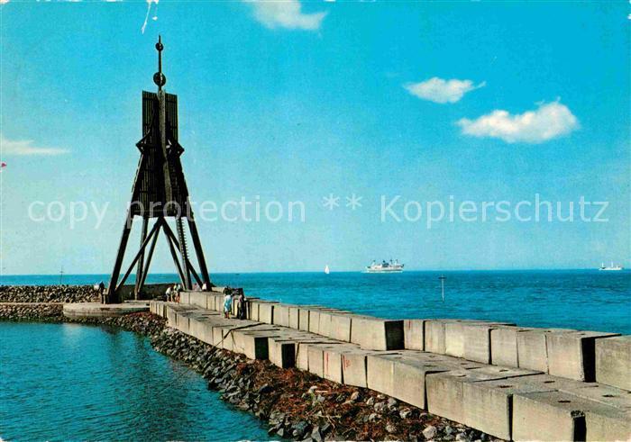AK / Ansichtskarte Cuxhaven Nordseebad Kugelbake Kat. Cuxhaven