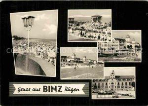 AK / Ansichtskarte Binz Ruegen Kuranlagen Kurhaus Cafe Kurkonzert  Kat. Binz