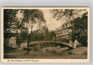 AK / Ansichtskarte Laasphe Parkanlagen Hotel Fasanerie Kat. Bad Laasphe