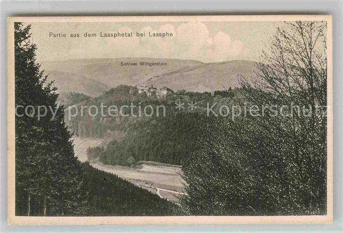 AK / Ansichtskarte Laasphe Schloss Wittgenstein Laasphetal Kat. Bad Laasphe