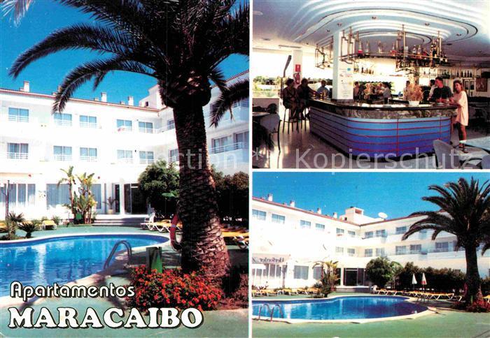 AK / Ansichtskarte Can Picafort Mallorca Apartamentos Maracaibo Kat. Spanien
