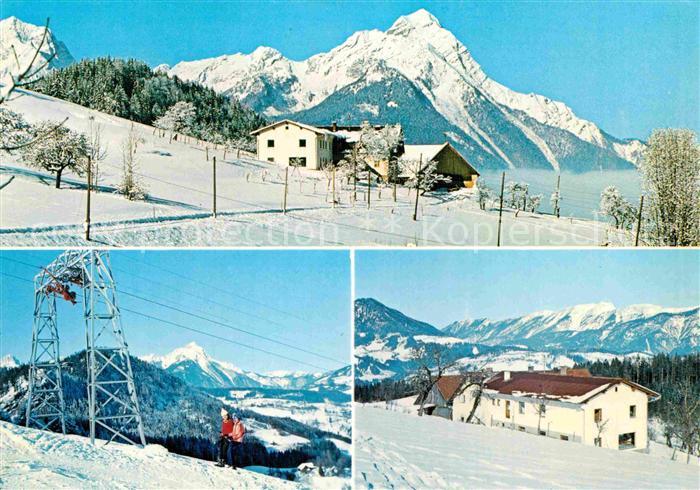 AK / Ansichtskarte Rossleithen Skigebiet Kinderheim a. Trinkl. Stoffer Kat. Rossleithen