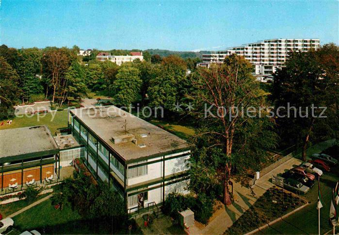 AK / Ansichtskarte Gluecksburg Ostseebad Haus des Kurgastes mit Kurpark Kat. Gluecksburg (Ostsee)