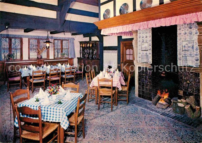 AK / Ansichtskarte Cloppenburg Herdraum des Dorfkruges im Museumsdorf Kat. Cloppenburg