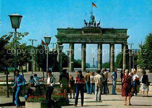 AK / Ansichtskarte Berlin Brandenburger Tor Siegessaeule Kat. Berlin