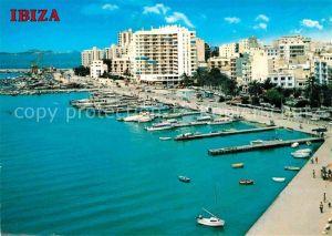 AK / Ansichtskarte San Antonio Abad Vista general puerto Kat. Ibiza Spanien