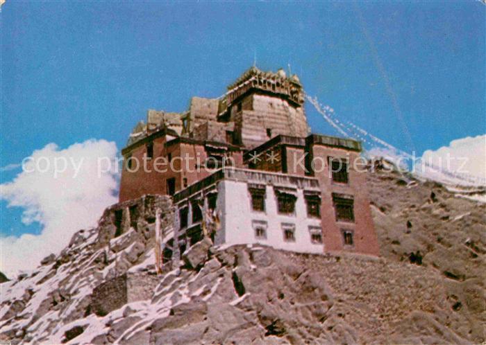 AK / Ansichtskarte Ladakh Namgyal Tesmo Temple At Leh