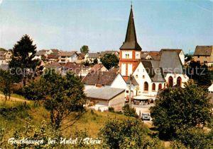 AK / Ansichtskarte Unkel Rhein Teilansicht mit Kirche
