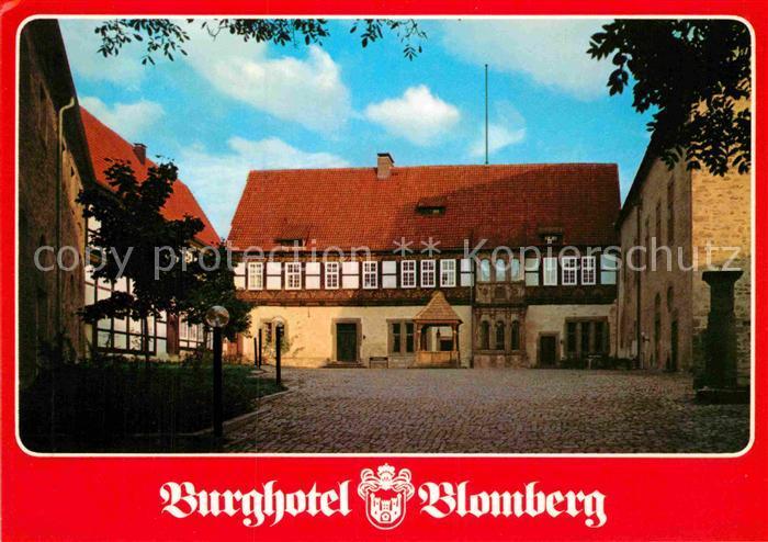 AK / Ansichtskarte Blomberg Lippe Burghotel Blomberg Kat. Blomberg