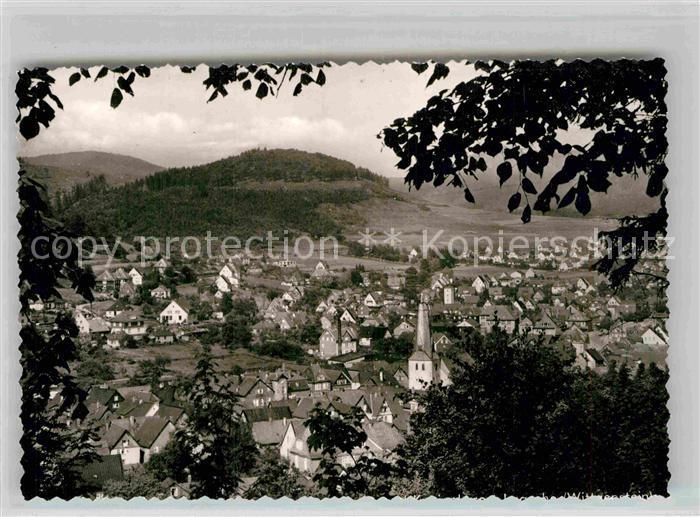 AK / Ansichtskarte Hesselbach Wittgenstein Panorama Kat. Bad Laasphe