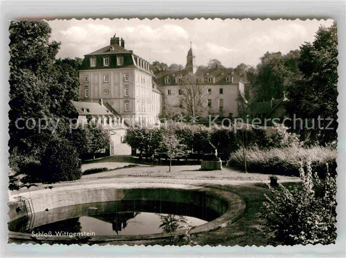 AK / Ansichtskarte Laasphe Schloss Wittgenstein Kat. Bad Laasphe