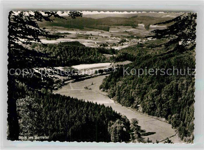 AK / Ansichtskarte Hesselbach Wittgenstein Banfetal Kat. Bad Laasphe