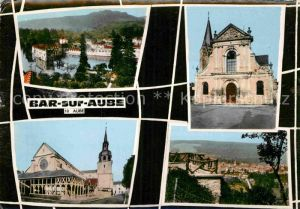 AK / Ansichtskarte Bar sur Aube Kirche Panorama  Kat. Bar sur Aube